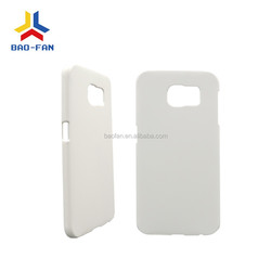 DIY 3D blank sublimation phone case for samsung galaxy S6