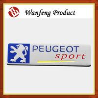 3d Metal Car Decorate/Car Logo Peugeot Badge
