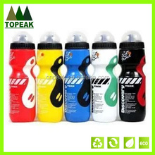 BPA free New Outdoor Cycling Bike Bicycle PE 700ml Sports Water Bottle With Dust Cover