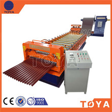 1000mm Coli Width Four Crests 840 Type Steel Sheet Roll Forming Machine / Computer Control Construction Machinery