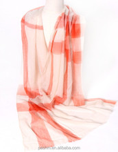 New fashion cheap pure mongolia cashmere scarf fashion check scarf lady air conditioning scarf