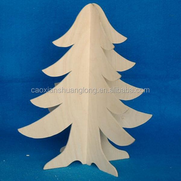 nueva tallado artesanias de madera navidad decoracion arbol de navidad adornos de madera artificial