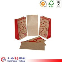 Fancy high quality printed kraft paper bag manufacturer in shanghai