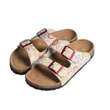 women fashion cork slipper sandal shoes for beach use