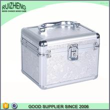 Hot beauty case hard toiletry bag makeup box aluminum make up kit