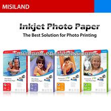 Cast Paper High Glossy Inkjet Coated Foto (de 115gsm a 250gsm) (A4 y formato ancho rollo de película de tamaño / lienzo)