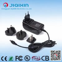 ac to dc power adapters 12V 3A output interchangerable 110V 230V