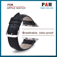 Highest Level Cow Leather For Apple Watch Strap Steel