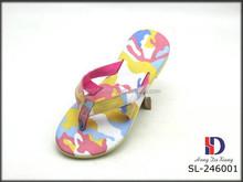 New Style PU+EVA Lady Flip Flops