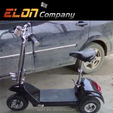 """2015 cheap 10"""" wheel 3 wheel scooter electric(E-SK03A black)"""