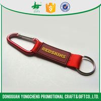 custom brand polyeser lanyard keychain with your logo