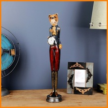 zakka crafts logistics package deals mention Mr. Dog ornaments home living room bedroom window wall clock pendulum pendant