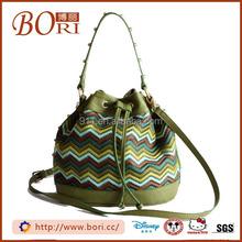 fashion faux leather shoulder/messenger bag