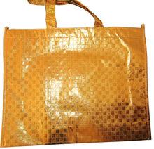 Fashional metallic lamination non woven bag for promotion