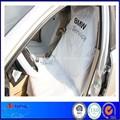 pe descartáveis de plástico branco do assento de carro cobertura de rolo