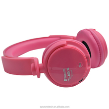 wireless tf card headphone baby headset kids headset for birthday gift with fm radio
