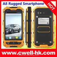 alibaba Newest China IP67 Rugged Android Smartphone MTK 6572 1.2 GHz CPU dual sim 3g gps Dual core smartphone