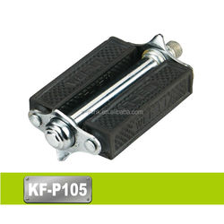 Good Quality Rubber Hand Motorcycles / Bicycle Pedals 75*105MM