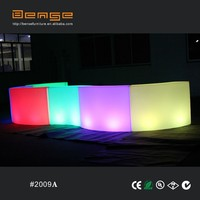 2015 new creative Beautiful combination snake round led bar counter #2009A