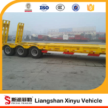 Tri-Axle Transport Heavy Equipment Lowbed Trailer