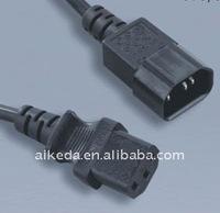 UL STANDARD IEC C13 /C14 POWER LEADS