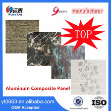PVDF Coated Alucobond ACP Sheet for Buidling Facade Decoration