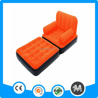 Luxury inflatable chair5 in 1 inflatable bed sofa