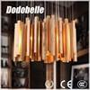 Industrial wooden retro fence cedar lighting pendant lamp /cloth shop/inn medieval chandelier ranch vibe interior decor light