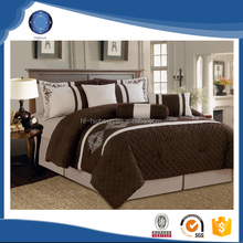 2015 new luxury king size comforter bedding set 7pcs from china