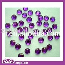 Beautiful Purple color acrylic rhinestone