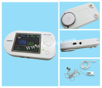 Multi-functional electronic visual pediatric stethoscope