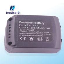 Makita bl1430 reemplazo de batería para la herramienta eléctrica 14.4v 3ah