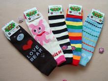 Yiwu Nuanqi Knitting Factory Wholesale Cute Cartoon Leg Warmers for kids