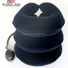 adjustable cervical collar neck support traction with air pump