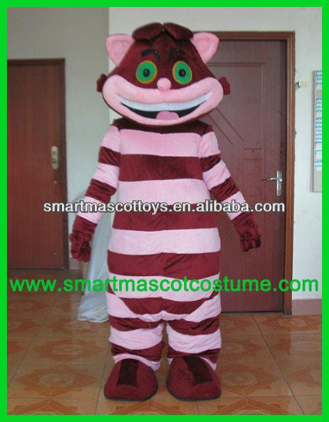 Hot vente de haute qualité cheshire cat femmes. cheshire cat costume costume des femmes