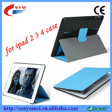 Ultra Thin Stand Flip Leather Smart Case For iPad 4 3 2,For iPad Air