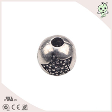 Best Selling Big Star Pattern 3mm Hole 925 Sterling Silver Bead Accessories