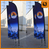 Digital printing feather banner with 100D polyester/ beach flag/ Feather flag