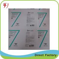 fashion popular printing logo stickers, adhesive custom adhesive shampoo bottle label