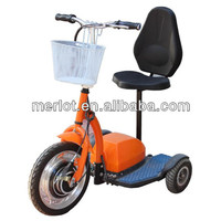 three wheel electric vehicle for disable people with CE approved