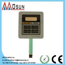 custom thin-film electronic membrane switch switch control