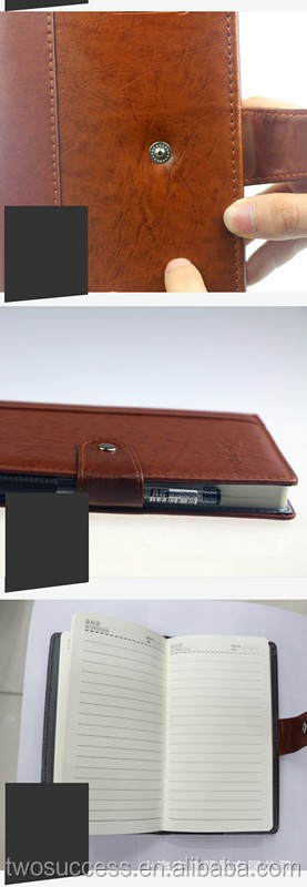 custom premium genuine leather cover leather bound notebook, leather notebook .jpg