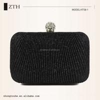 latest high quality fold marks fashion wedding bag evening clutch box