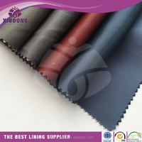 hot sale 100% polyester dobby lining fabric for suit/garment/bag/shoes accessories