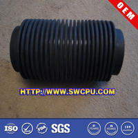 Good quality round molded accordion rubber bellows