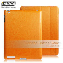 IMUCA original leather case for Ipad 5 case for Apple air cover