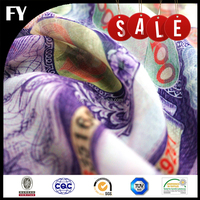 FREE SAMPLE 50D digital printed polyester chiffon fabric