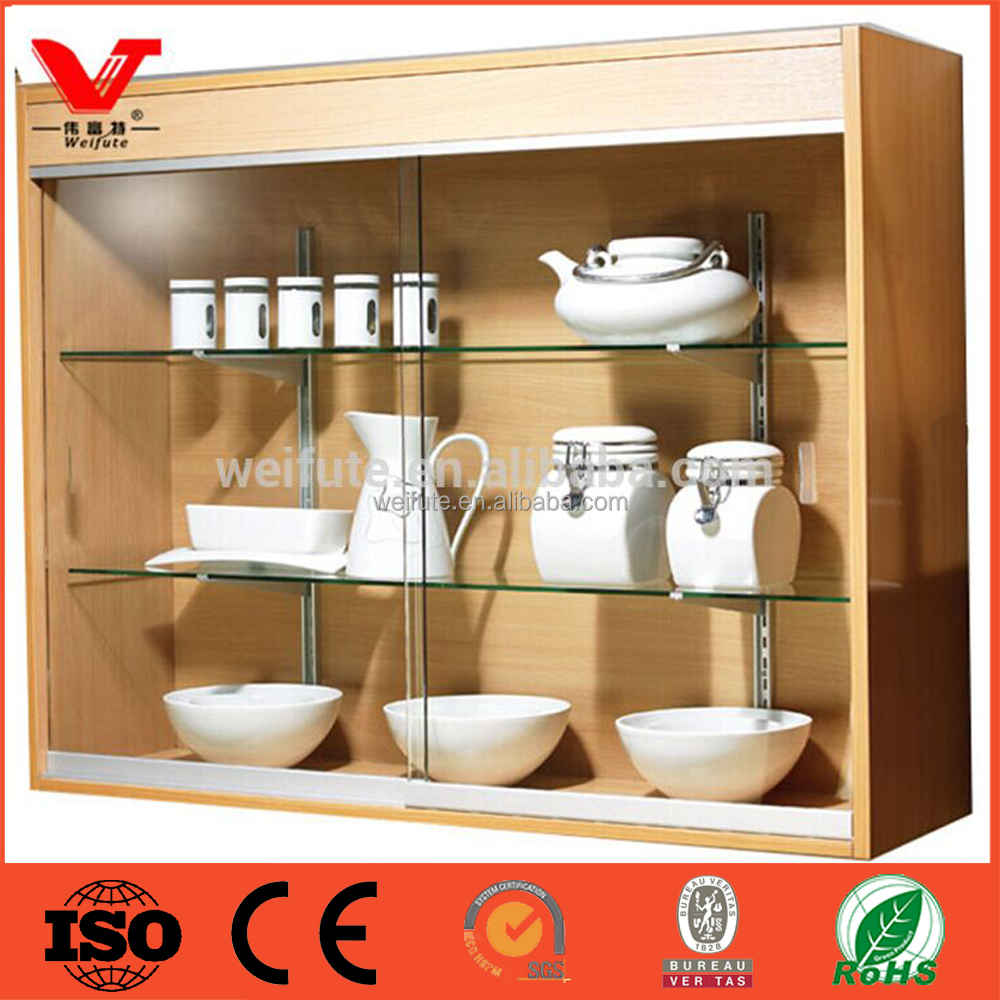 Original manufacturer of kitchen wall cabinets with glass for Glass kitchen wall units