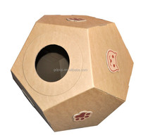 Eco-friendly Material low cost Cardboard cat house