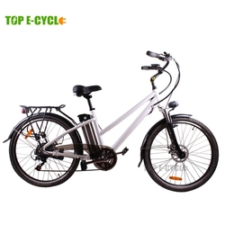 TOP E-cycle high quality e bike cheap city electric bike bicycle China